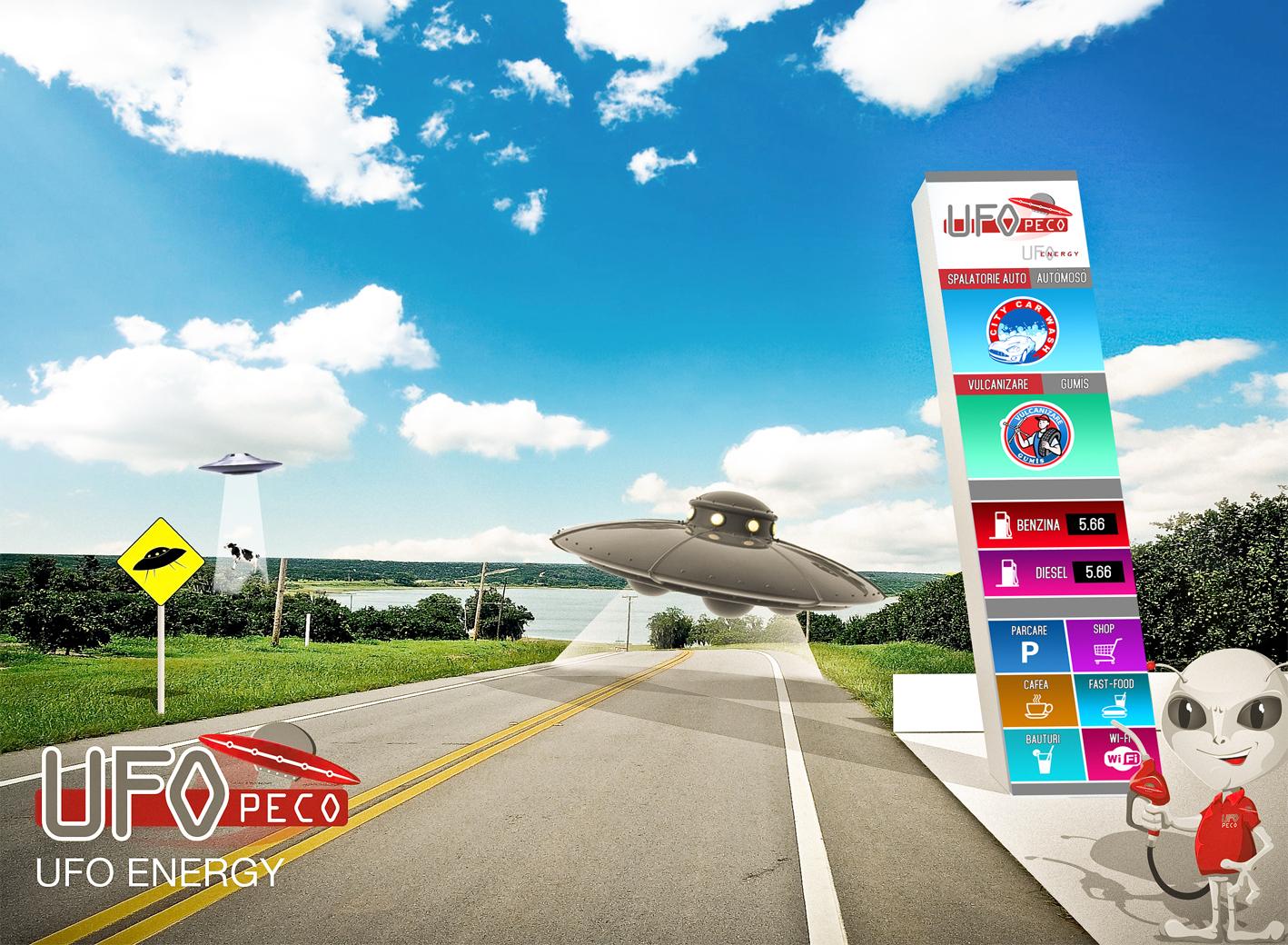 UFO fundal