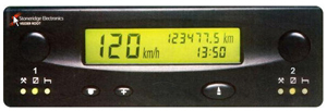 TAHOGRAF 2416 VR 12V 125KM/H