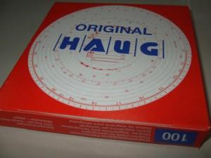 DIAGRAMA TAHOGRAF HAUG 100 – 180 km/h