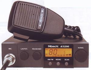 STATIE RADIO CB ALBRECHT AE 5290 XL