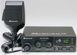 STATIE RADIO CB ALAN MIDLAND 100 PLUS
